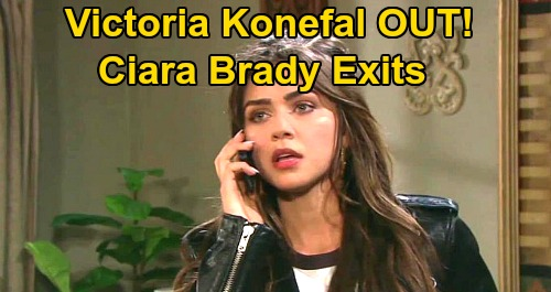 Days of Our Lives Spoilers: Victoria Konefal OUT as Ciara Brady – Another Shocking DOOL Exit Ahead