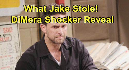 Days of Our Lives Spoilers: What Valuable Item Did Jake Steal From Mob Family – Shocking DiMera Mystery Unravels?