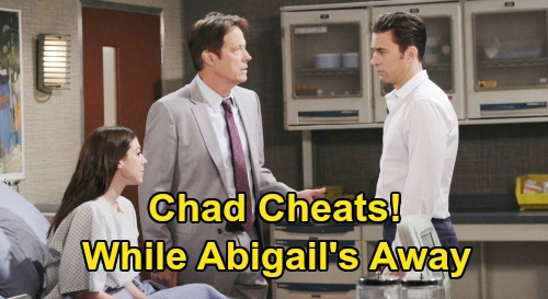 Days of Our Lives Spoilers: 'Chabby' Future in Jeopardy While Abigail's Away – Will Chad Cheat On Love of His Life?