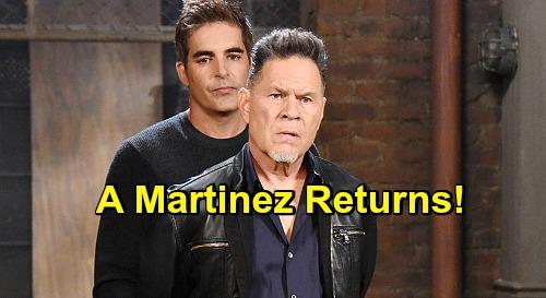 Days of Our Lives Spoilers: A Martinez Return Confirmed – Eduardo Hernandez Heads Back to Salem