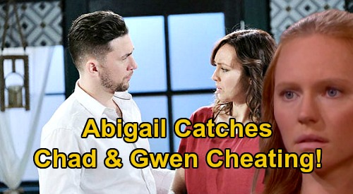 Days of Our Lives Spoilers: Abigail Catches Chad Cheating with Gwen – Marci Miller Returns for Heartbreaking Surprise?