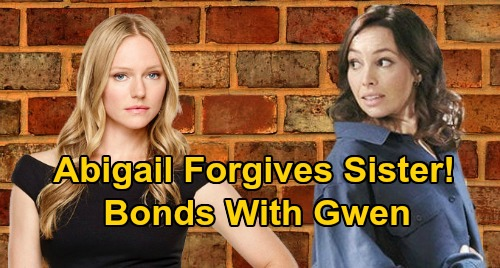 Days of Our Lives Spoilers: Abigail Forgives Gwen After Half-Sister Reveal – Saves Schemer from Prison, Embraces Sibling Bond?