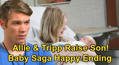Days of Our Lives Spoilers: Allie & Tripp Raise Son Together, Sweet New Family – Happy Ending to Baby Saga?