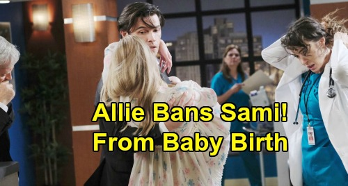 Days of Our Lives Spoilers: Allie Wants Nicole As Coach During Childbirth - Furious Sami Banned From Delivery Room