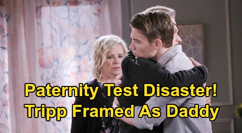 Days of Our Lives Spoilers: Baby Henry Paternity Test Tampering – Tripp Framed by Fake Father Proof, Insists There's a Mistake?