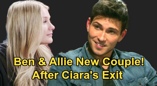 Days of Our Lives Spoilers: Ben & Allie New Couple After Ciara Exits? - Lindsay Arnold Auditioned With Robert Scott Wilson