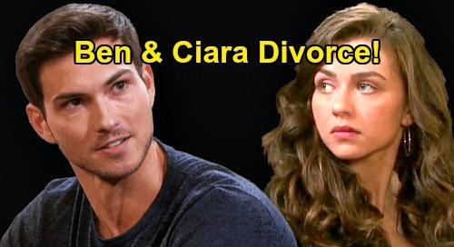 Days of Our Lives Spoilers: Ben Attacks Ciara, CIN Divorce Brings Victoria Konefal's Exit – Jordan Prediction Comes True?