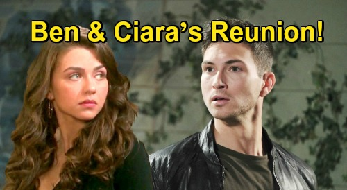 Days of Our Lives Spoilers: Ben & Ciara's Reunion – Proof Victoria Konefal Returns for More 'Cin'