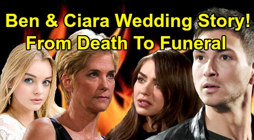 Days of Our Lives Spoilers: Ben & Ciara Full Wedding Story, Death and Funeral – Everything You Need to Know from Start to Finish