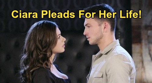 Days of Our Lives Spoilers: Ben Corners Ciara in Shower Where He Killed Paige – Armed with a Tie as Ciara Pleads for Her Life
