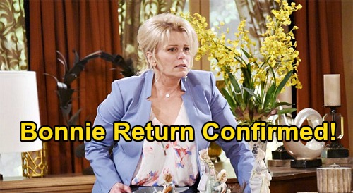 Days of Our Lives Spoilers: Bonnie's Back and Still Wants Lucas – Adrienne's Lookalike Works to Overcome Horrible History
