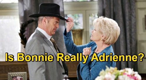 Days of Our Lives Spoilers: Adrienne Clues Pile Up, Bonnie Gets Rolf's Memory Serum – Justin Suspects Wife Alive?