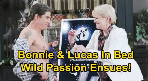 Days of Our Lives Spoilers: Bonnie Surprises Lucas In Bed - Lucas Succumbs To Wild Passion?