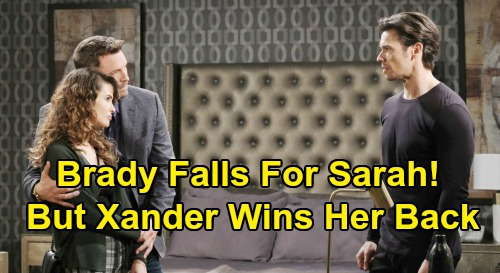 Days of Our Lives Spoilers: Brady Falls for Sarah, But She Can't Resist Xander – Fake Romance Leads to Brady's Real Broken Heart?