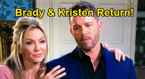 Days of Our Lives Spoilers: Brady Rushes Home to Comatose John, Can't Ignore Dad's Crisis – How Kristen's Return Fits In