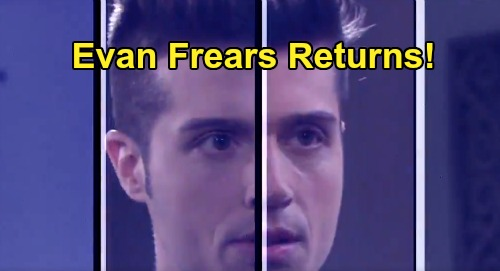 Days of Our Lives Spoilers: Brock Kelly Brings Evan Frears Back To Salem - Orpheus' Son Returns This Fall