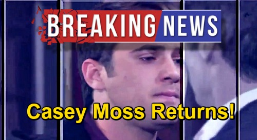 Days of Our Lives Spoilers: Casey Moss Returns as JJ Deveraux – Exciting Comeback News, Deveraux Family Reunion This Fall