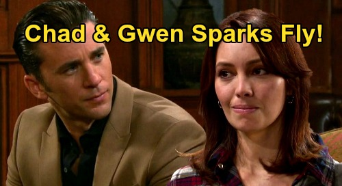 Days of Our Lives Spoilers: Chad & Gwen's Flying Sparks – First Meeting Sets Up Sizzling Future, New Potential Couple?