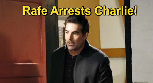 Days of Our Lives Spoilers: Charlie Arrested, Rafe Waiting with Handcuffs After Ava's Rescue – Kidnapper Hauled to Salem PD