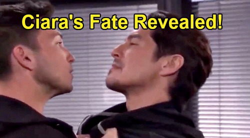 Days of Our Lives Spoilers: Ciara's Fate Revealed, Ben Learns What Happened – Vincent Solves One Mystery, But Starts Another