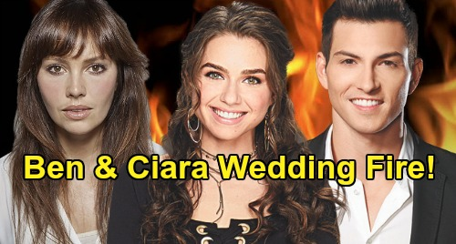 Days of Our Lives Spoilers: Claire Framed for Ben & Ciara's Wedding Fire – Jake's Ex Gwen Sets Up Bayview Bestie to Take the Fall?