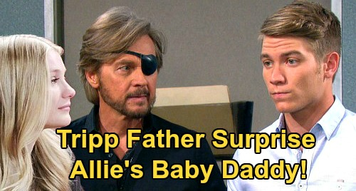 Days of Our Lives Spoilers: Could Tripp Dalton Be the Father of Allie's Baby – Steve's Son Behind Pregnancy Shocker?