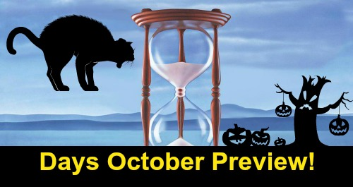 Days of Our Lives Spoilers: DOOL October Preview – Sneak Peek of What's Ahead in Salem