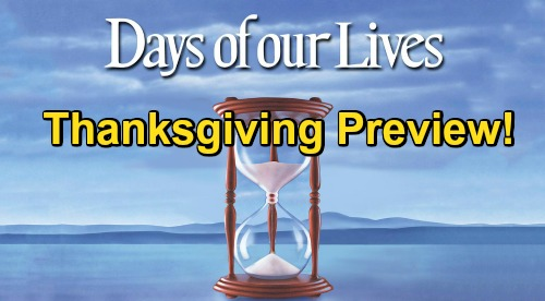 Days of Our Lives Spoilers: DOOL Thanksgiving Episode Preview – Fierce Family Battles, Explosive Secrets & Green-Eyed Monster
