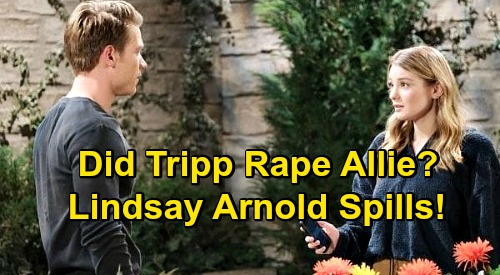 Days of Our Lives Spoilers: Did Tripp Really Rape Allie? – Lindsay Arnold Spills on Complicated Father Mystery