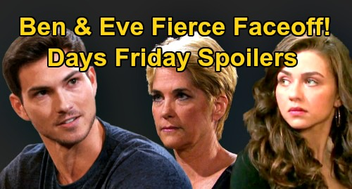 Days of Our Lives Spoilers: Friday, August 28 – Gabi & Rafe Leave Salem – Ben and Eve's Fierce Faceoff – Heartbroken Gwen's Fury