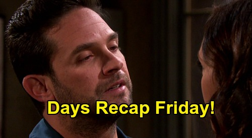 Days of Our Lives Spoilers: Friday, July 3 Recap - Eli & Lani's Romantic Wedding Night - Jake & Gwen Hit The Sheets