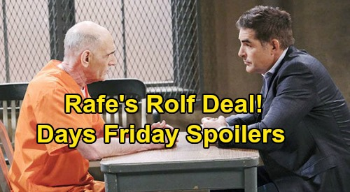Days of Our Lives Spoilers: Friday, June 19 – Allie's Baby Daddy Quiz - Gabi's DNA Mission – Rafe Deals With Dr. Rolf