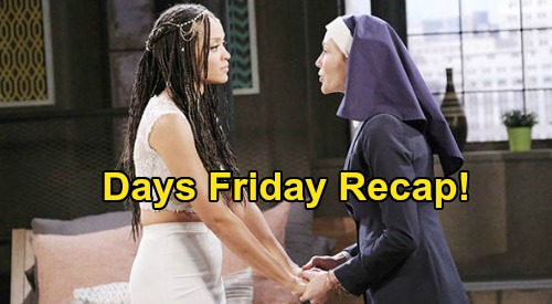 Days of Our Lives Spoilers: Friday, June 26 Recap - Kristen Shows Up On Lani's Doorstep - Gabi Catches Jake & Gwen Kissing