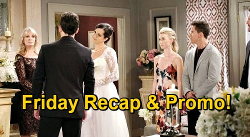 Days of Our Lives Spoilers: Friday, November 20 Recap - Jan Replaces Belle As Bride - Xander & Sarah Close In On Ava