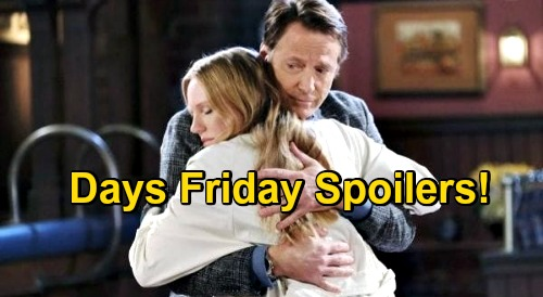 Days of Our Lives Spoilers: Friday, November 27 – Gabi Returns, Jake & Kate Bedroom Bomb – Rafe's Crushing Ciara & Hope News