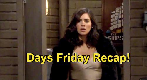 Days of Our Lives Spoilers: Friday, November 27 Recap - Gabi Sees Kate & Jake In Bed - Abigail & Jack Reconcile - Rafe Devastated