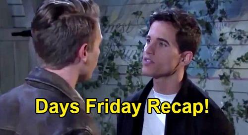 Days of Our Lives Spoilers: Friday, October 16 Recap - Charlie & Claire Sparks Fly - Kayla & Steve Secret DNA Test