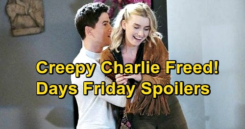 Days of Our Lives Spoilers: Friday, October 23 – Jan Knocks Belle Unconscious – Claire Helps Trapped Charlie – Xander Explodes