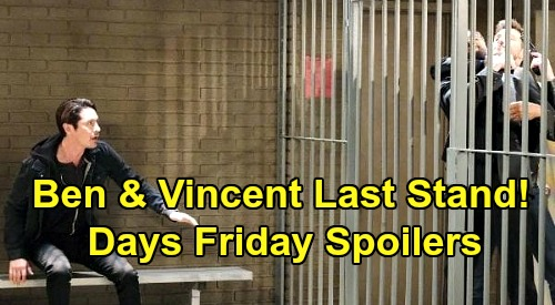 Days of Our Lives Spoilers: Friday, October 30 – Ben Breaks Vincent Out For Final Showdown – Hope's Shocking Letter