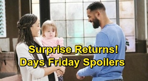 Days of Our Lives Spoilers: Friday, September 4 – Abigail Surprises Chad – Lani with Baby Rachel – Intruder Tripp Confusion