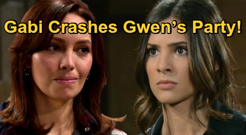 Days of Our Lives Spoilers: Gabi Crashes Gwen's Party – Wrecks Rival's Plans for Abigail and Steals Spotlight?