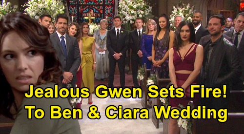 Days of Our Lives Spoilers: Gabi Is Jake's Ben & Ciara Wedding Date – Jealous Gwen Sets Fire To 'Cin' Ceremony?