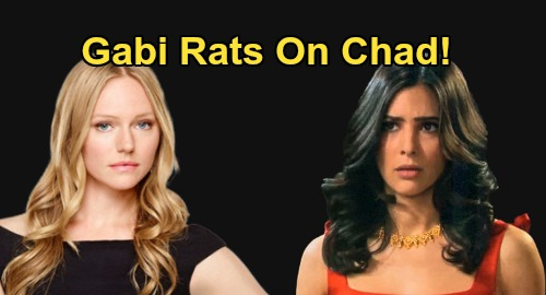 Days of Our Lives Spoilers: Gabi Rats Chad Out for Cheating on Abigail – Gwen Bomb Destroys 'Chabby' Marriage?