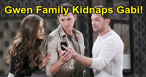 Days of Our Lives Spoilers: Gwen's Mob Family Kidnaps Gabi – Jake Negotiates With Ex-Girlfriend To Save Gabi's Life