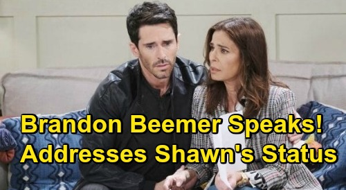 Days of Our Lives Spoilers: Is Brandon Beemer Exiting, Addresses Whether Shawn Stays or Goes - Bo & Hope's Family Fading Out
