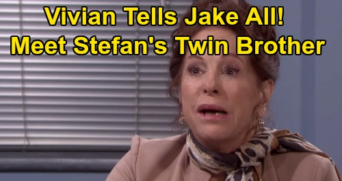 Days of Our Lives Spoilers: Is Jake a Twin Brother or the Real Stefan DiMera – Vivian Spills All in Showdown for the Truth?