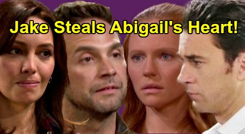 Days of Our Lives Spoilers: Jake Battles Chad for Abigail's Heart & DiMera Empire Following Gabi's Exit