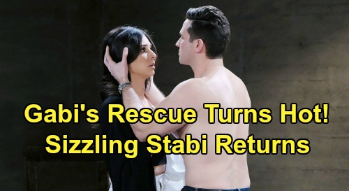 Days of Our Lives Spoilers: Jake & Gabi Trapped In Kidnap Rescue - Gabi & Stefan Sizzling Past Emerges - 'Stabi' Sparks Fly?