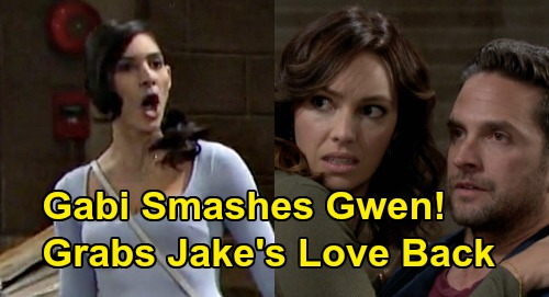 Days of Our Lives Spoilers: Jealous Gabi Won't Let Gwen Steal Her Man – Smashes Jake's Ex-Flame, Grabs Love Back
