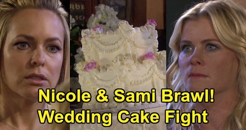 Days of Our Lives Spoilers: Jealous Sami Fumes Over Allie & Nicole's Bond - Leads To Brawl At Eric's Wedding?
